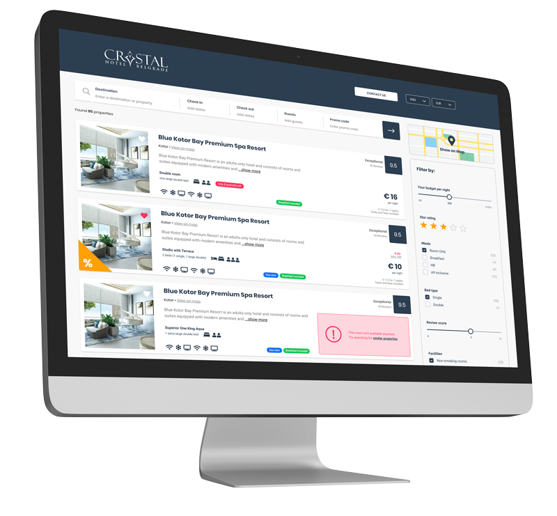 Booking Engine for Hotels